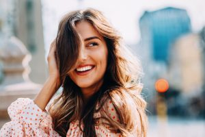 How many shades can teeth whitening in Framingham brighten your teeth?